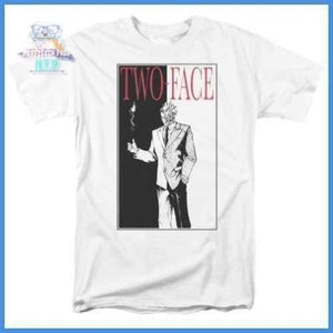 Batman - Two Face Short Sleeve Adult