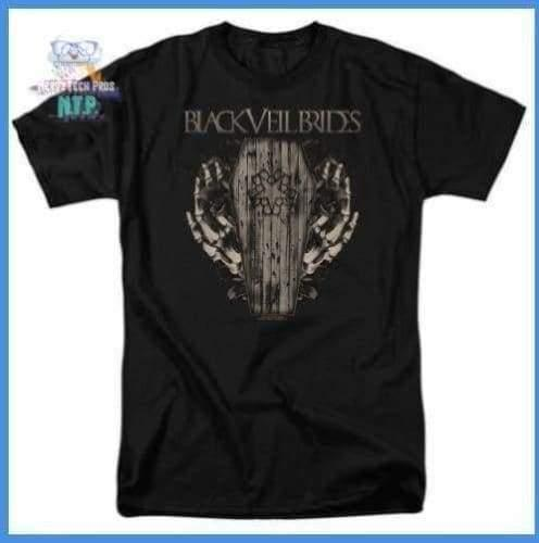 Black Veil Brides - Casket Roses Short Sleeve Adult