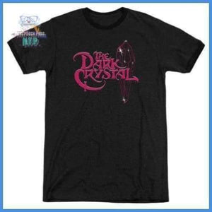 Dark Crystal - Bright Logo Adult Heather