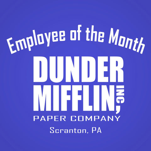 Dunder Mifflin Employee Of The Month Men's Tri-Blend T-Shirt
