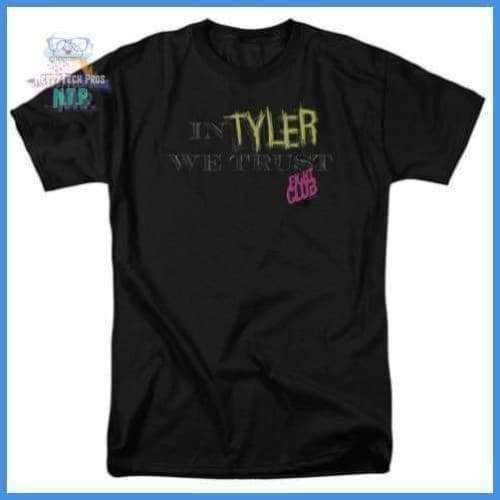 Fight Club - In Tyler We Trust Short Sleeve Adult