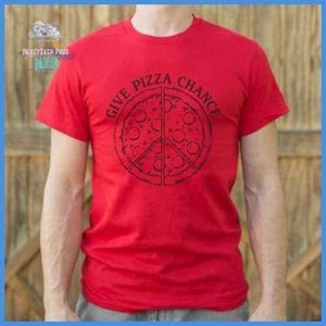 Give Pizza Chance (Mens)