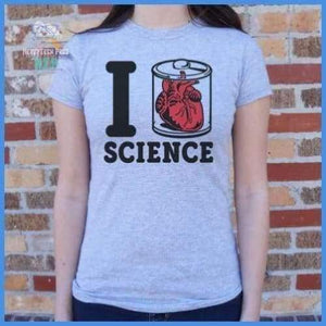 I Heart Specimen Science (Ladies)