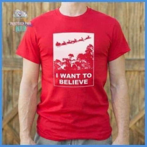 I Want To Believe In Santa (Mens)