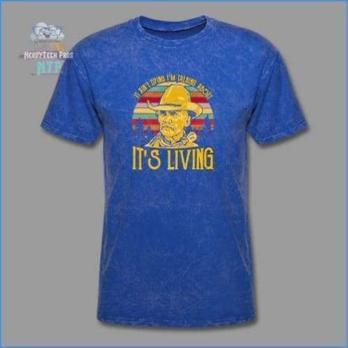 Lonesome Dove - mineral royal / S - Mens T-Shirt