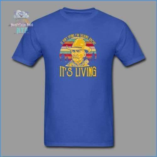 Lonesome Dove - royal blue / S - Mens T-Shirt