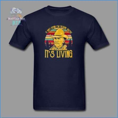 Lonesome Dove - navy / S - Mens T-Shirt