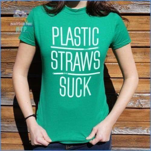 Plastic Straws Suck (Ladies)