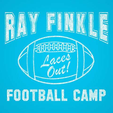 Ray Finkle Football Camp Laces Out Women's Relaxed Fit Tri-Blend T-Shirt