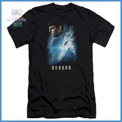 Star Trek Beyond - Spock Poster Premium Canvas Adult Slim Fit