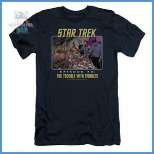 St:Original - The Trouble With Tribbles Short Sleeve Adult
