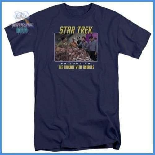 St:Original - The Trouble With Tribbles Short Sleeve Adult Tall