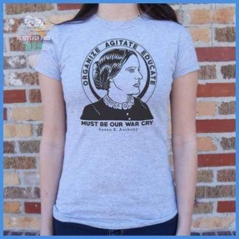 Susan B. Anthony Quote (Ladies)
