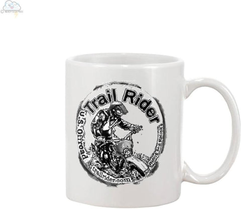 Trail Rider- 15oz Ceramic Mug - Mugs
