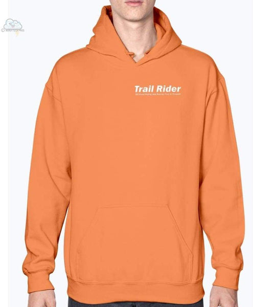 Trail Rider- Gildan- Hoodie - Orange / S - Sweatshirts