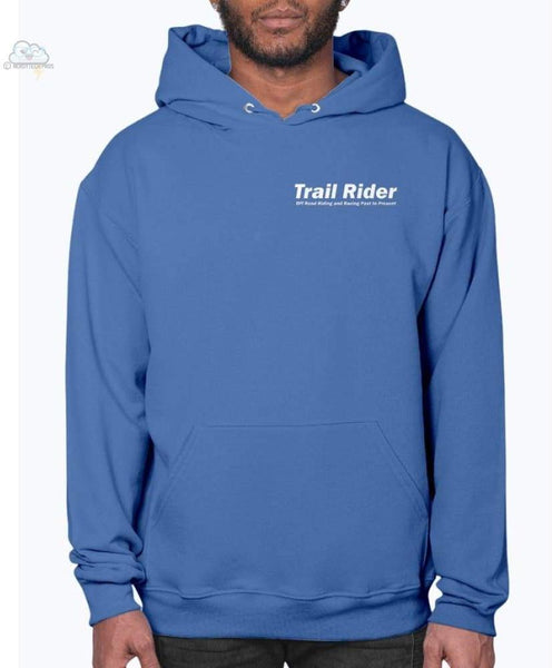 Trail Rider- Jerzees - Unisex Hoodie - Royal Blue / S - Sweatshirts