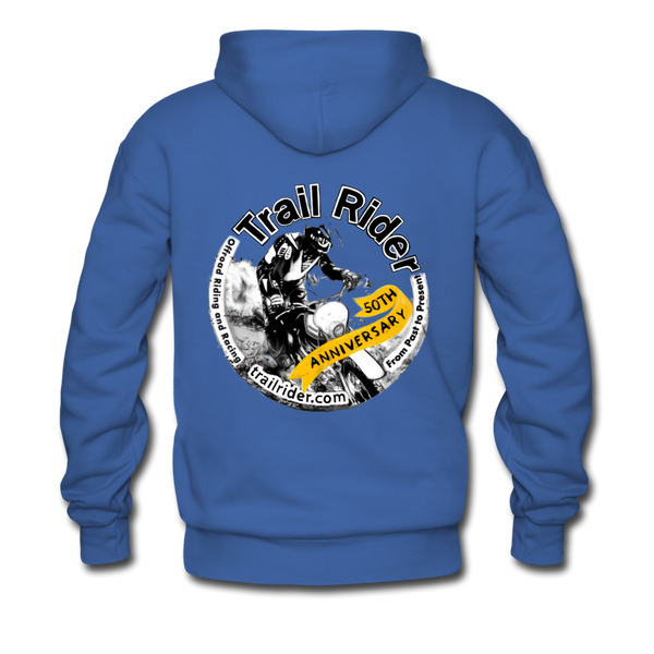 TrailRider 50th Anniversary - Men's Premium Hoodie - royalblue