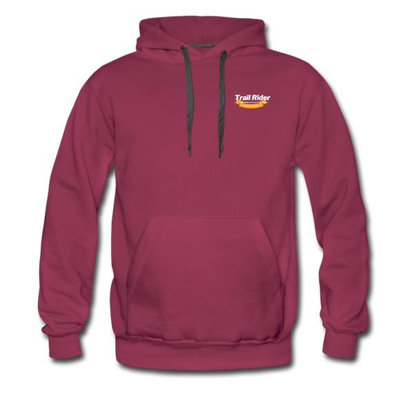 TrailRider 50th Anniversary - Men's Premium Hoodie - burgundy