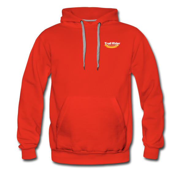 TrailRider 50th Anniversary - Men's Premium Hoodie - red