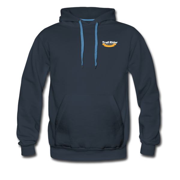 TrailRider 50th Anniversary - Men's Premium Hoodie - navy