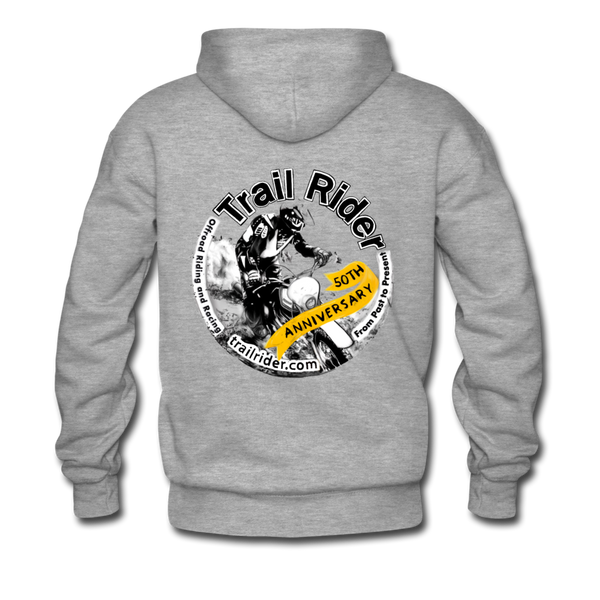TrailRider 50th Anniversary - Men's Premium Hoodie - heather gray
