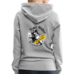 TrailRider 50th Anniversary- Women's Premium Hoodie - heather gray