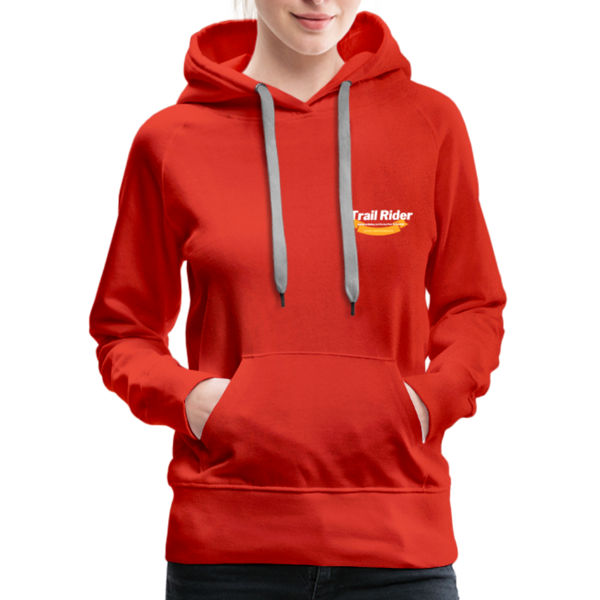TrailRider 50th Anniversary- Women's Premium Hoodie - red