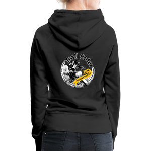 TrailRider 50th Anniversary- Women's Premium Hoodie - black