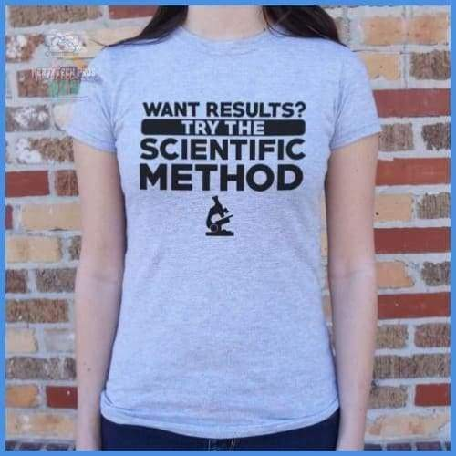 Try The Scientific Method (Ladies)