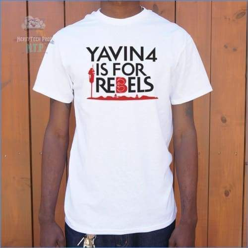 Yavin 4 Is For Rebels (Mens)