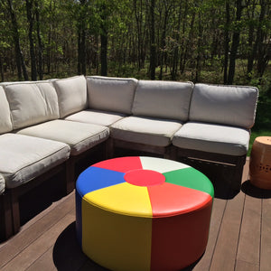 Beach Ball Bench