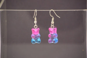 Jellio Gummi Glitter dangle earrings
