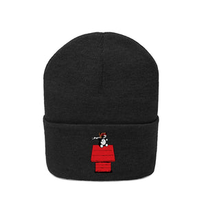 Red Baron Knit Beanie