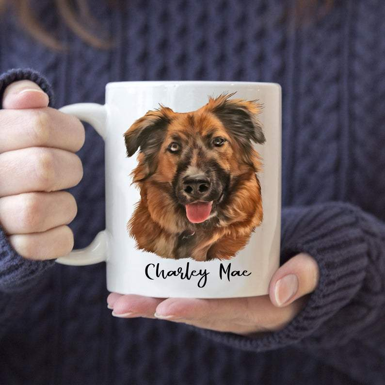 Custom Pet Mug - AmiraPup