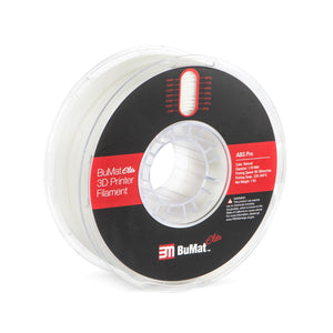 BuMat Elite Professional ABS Filament - Natural