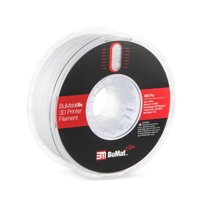 BuMat Elite Professional ABS Filament - White