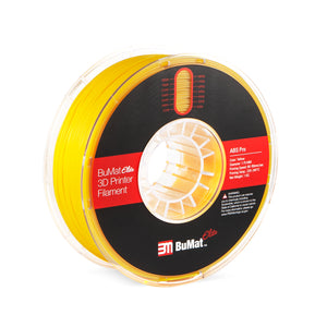 BuMat Elite Professional ABS Filament - Yellow