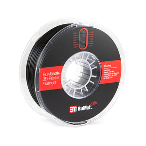BuMat Elite Professional PLA Filament - Black
