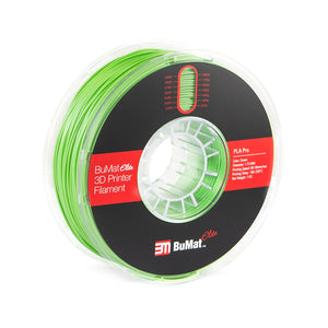 BuMat Elite Professional PLA Filament - Green