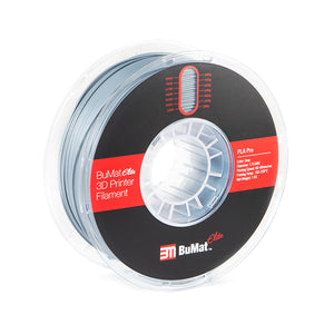 BuMat Elite Professional PLA Filament - Gray