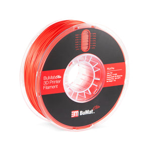 BuMat Elite Professional PLA Filament - Red