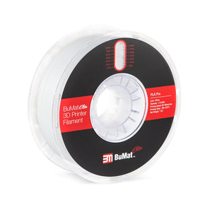 BuMat Elite Professional PLA Filament - White