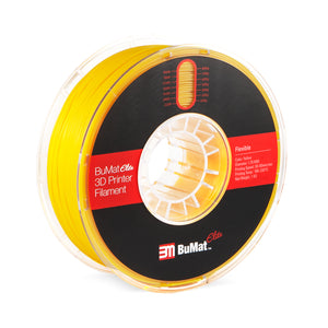 BuMat Elite Flexible Filament - Yellow