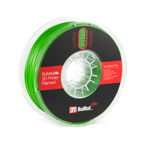 BuMat Elite High Speed PLA Filament - Green