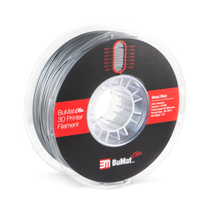 BuMat Elite Metal Filled Filament -Aluminum