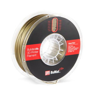 BuMat Elite Metal Filled Filament - Bronze