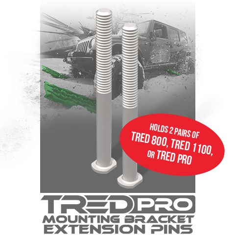TRED Pro Mounting Bracket Extension Pins (2 x Pins)