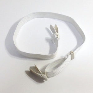 コーリンベルト Korin belt for kitsuke ( white ) / useful tool for  wearing kimono beautifully