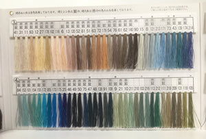 絹手縫い糸218番 Silk thread for hand sewing  / 40 meters : color number 218