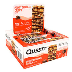 Quest Nutrition Snack Bar (12 Barras) - Amendoim Chocolate